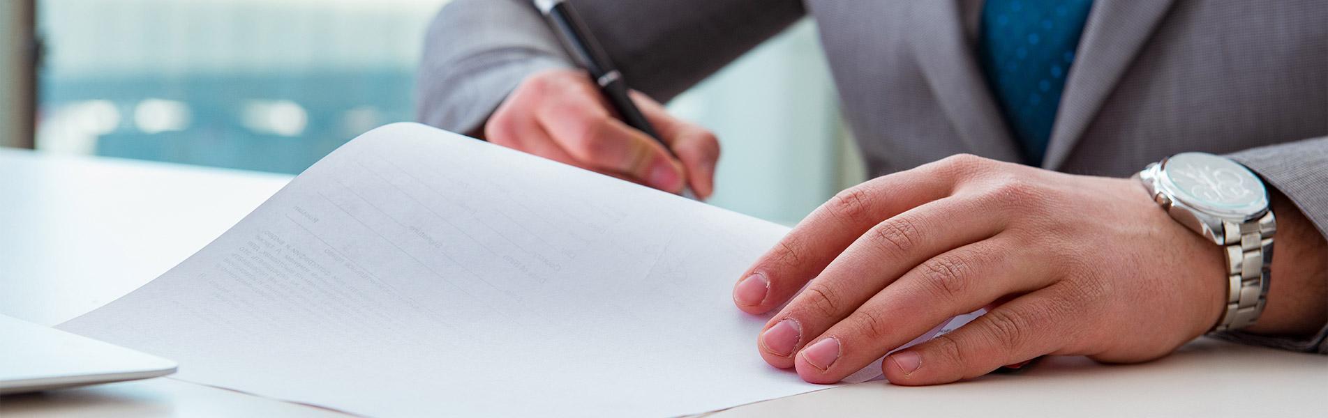 ΓΙΝΕΤΕ ΠΕΛΑΤΗΣ ΜΑΣ - Υπογραφή Συμβολαίου